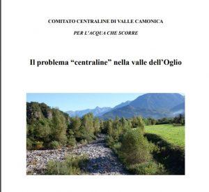 """il problema """"centraline"""" nella valle dell'Oglio"""
